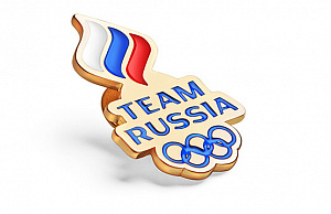 "Badge ""Team Russia"""