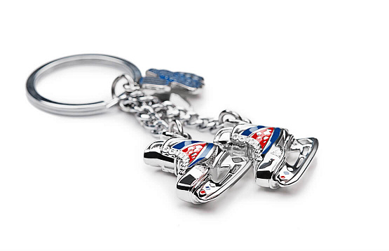 "Key ring ""Your victory: hockey"""
